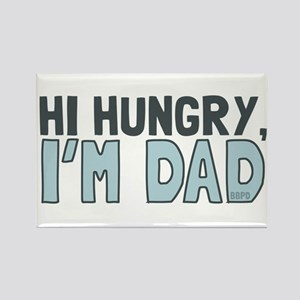 Hi Hungry Im Dad Magnets